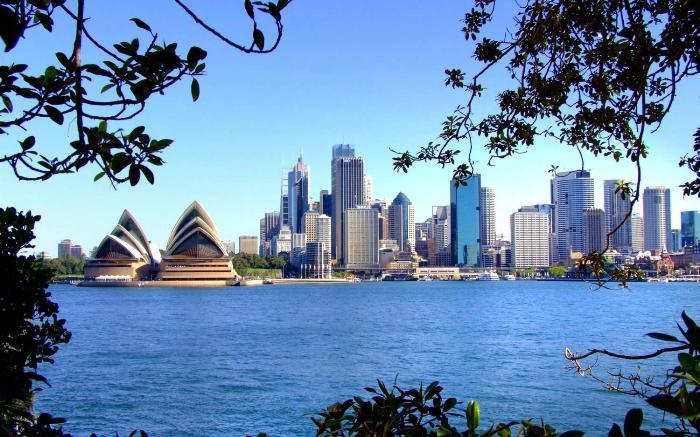 Туристические зоны Сиднея