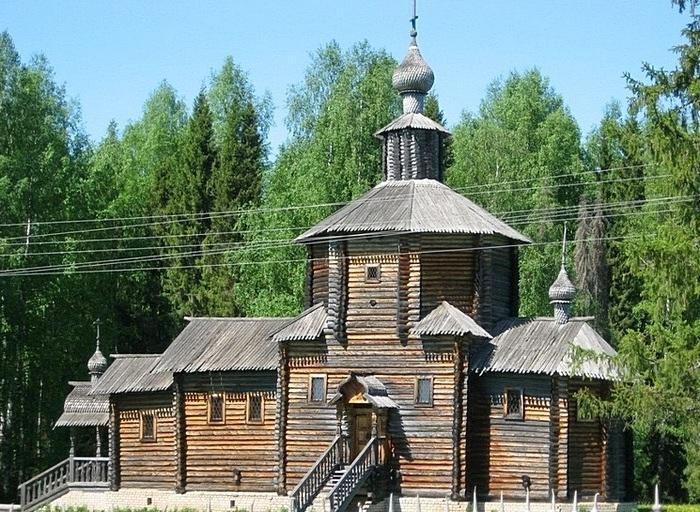 Церковь Святого Иоанна Предтечи с. Рябово