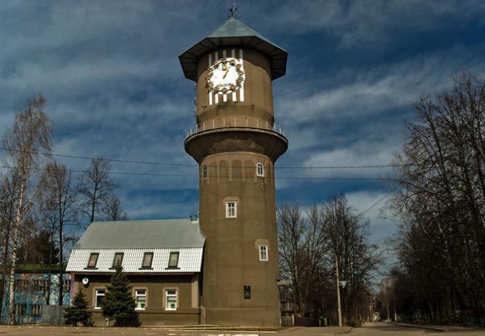 Водонапорная башня в форме самовара