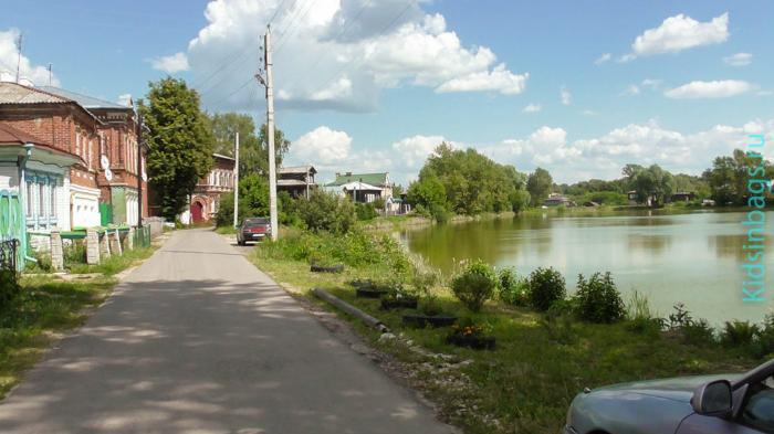Кабацкий пруд. город Богородск Нижегородской области