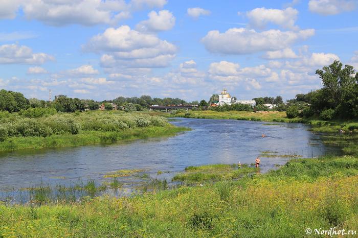 Левое русло реки Великая