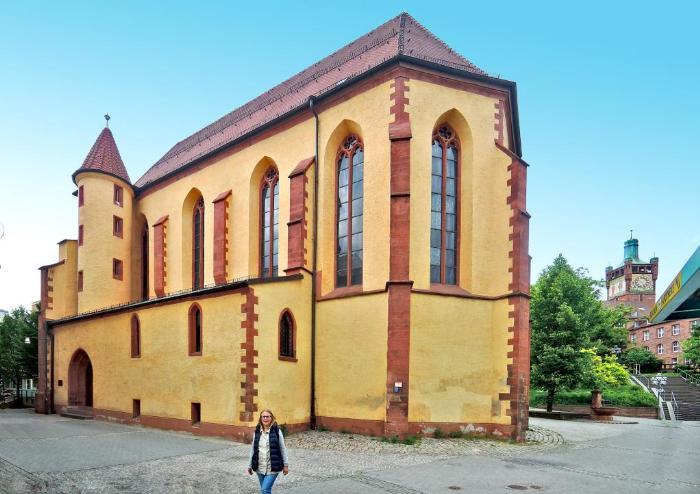 Францисканская церковь в городе Пфорцхайм