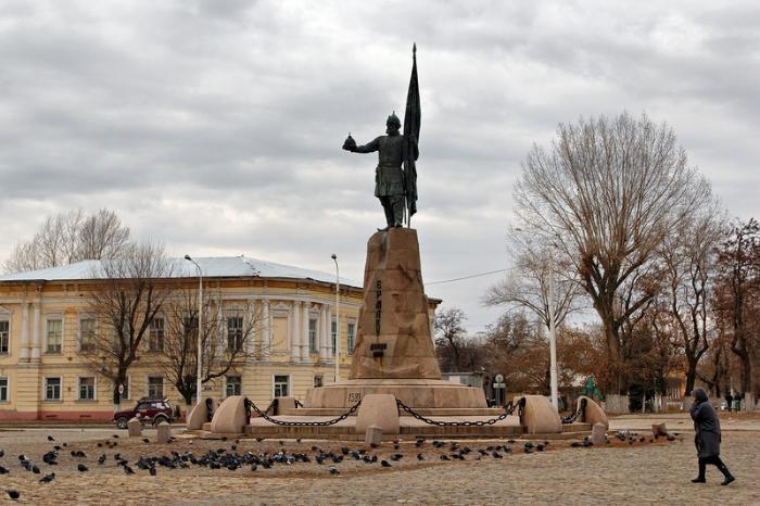 Памятник атаману Ермаку Тимофеевичу, Новочеркасск