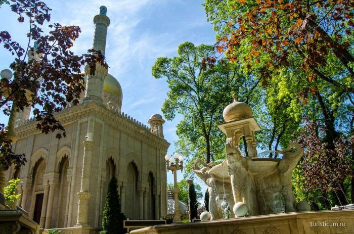 Кабардинка, старый парк