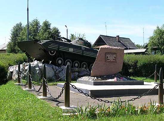 Памятник погибшим в локальных конфликтах