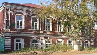 Каинск (Куйбышев):Коммунистическая 31 - особняк купца Шкроева