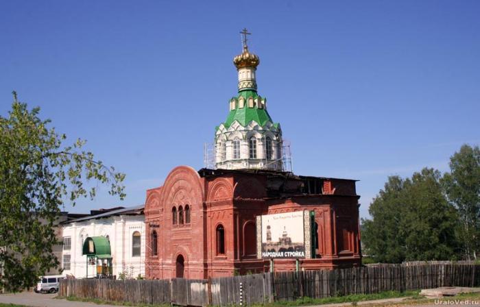 Церковь в Михайловске