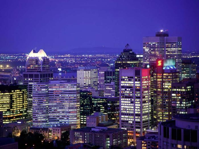 Описание Монреаля