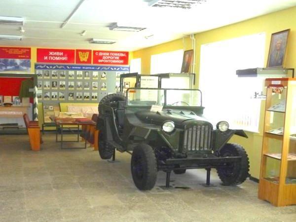 Музей истории и боевой славы автомобильных войск, Набережные Челны