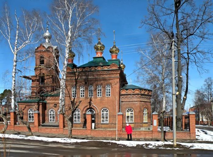 Церковь Ксении Петербуржской, Сарапул