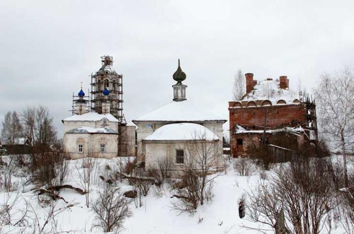 Храмовый комплекс Троицкого на рву прихода