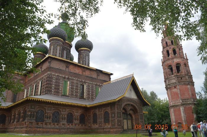 Церковь Иоанна Предтечи в Толчковской слободе