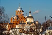 Фото: Покровский монастырь - главная достопримечательность Хотькова