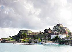 Средневековая крепость, Керкира (Корфу)