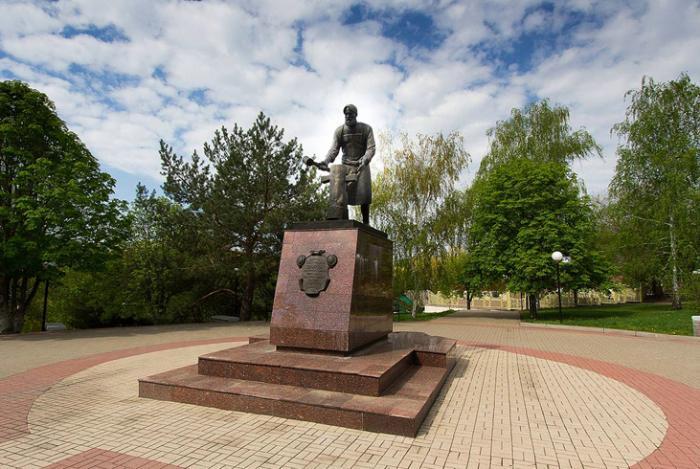 Памятник Д.С. Бокареву
