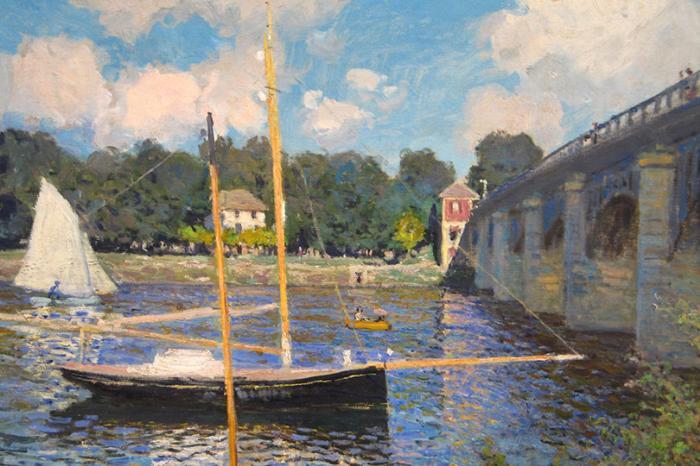 Планы налето: Франция постопам импрессионистов. Клод Моне «Мост ВАржантёе», 1874