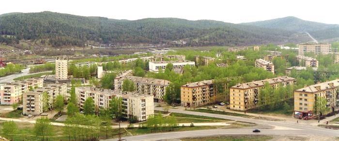 Сатка - город в Челябинской области дома