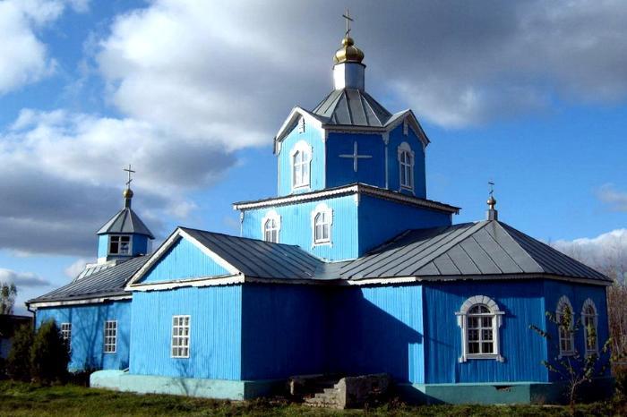 Церковь Казанская, к. XIX в., с. Березовка